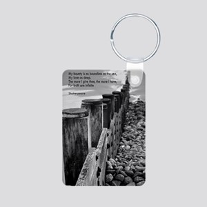 newshakes Aluminum Photo Keychain