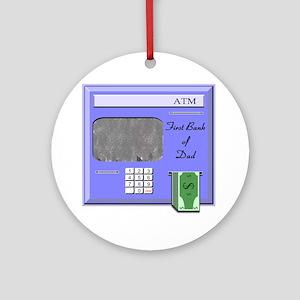 10x10 ATM Round Ornament