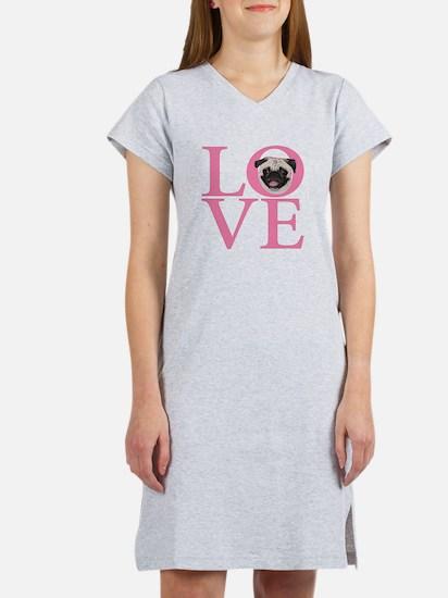 Love Pug - Women's Nightshirt