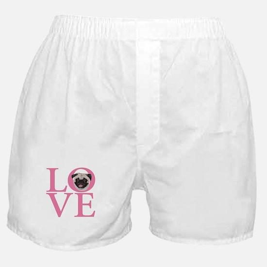 Love Pug - Boxer Shorts