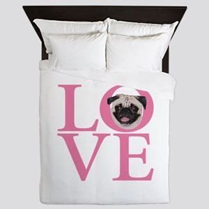Love Pug - Queen Duvet