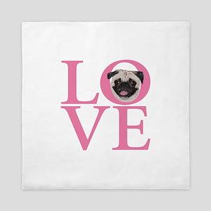 Love Pug - Queen Duvet