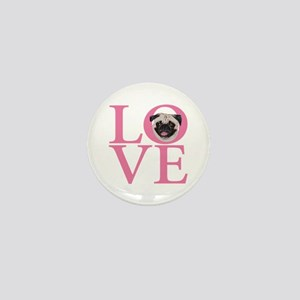 Love Pug - Mini Button