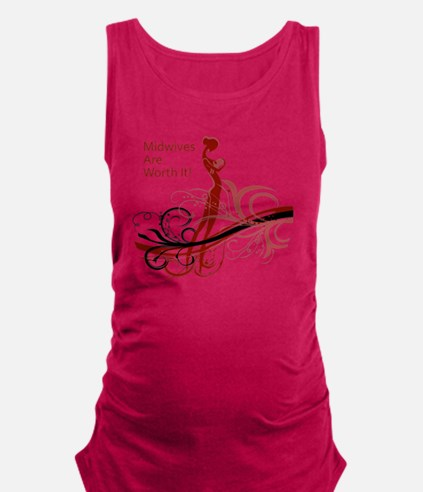 midwives Maternity Tank Top