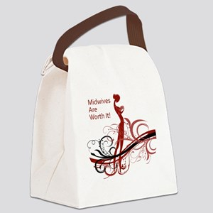 midwives Canvas Lunch Bag
