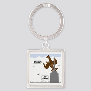 stephen king kong Square Keychain