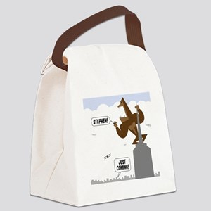 stephen king kong Canvas Lunch Bag