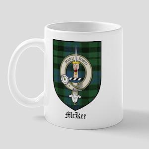 McKee Clan Crest Tartan Mug