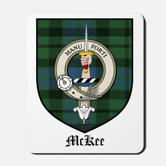 McKee Clan Crest Tartan Mousepad