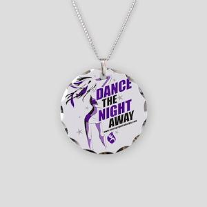 Dance Shirt NightAway Necklace Circle Charm