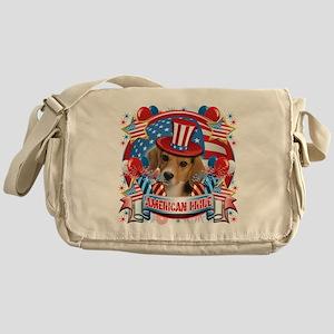 American Pride Beagle Messenger Bag