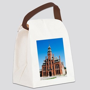 1DS3-4408-NOTECARD Canvas Lunch Bag