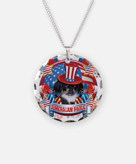 American Pride Pekingese Necklace