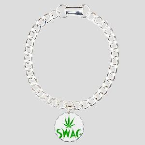 weedSwag Charm Bracelet, One Charm