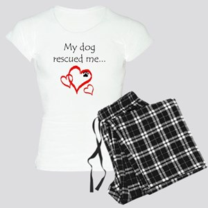 dogs are angels with fur Women's Light Pajamas