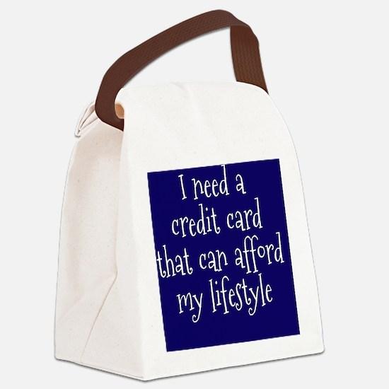 credit-card_rnd2 Canvas Lunch Bag