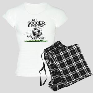 1AllSoccerFrnt Women's Light Pajamas