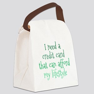 credit-card1 Canvas Lunch Bag