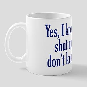 shut-up_rect2 Mug