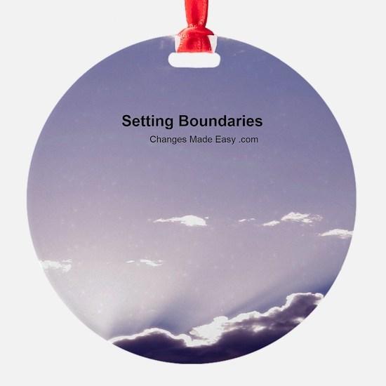 Setting Boundaries Ornament