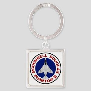 F-4 Phantom II Square Keychain
