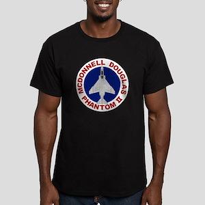 F-4 Phantom II Men's Fitted T-Shirt (dark)