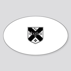 Exile's Oval Sticker