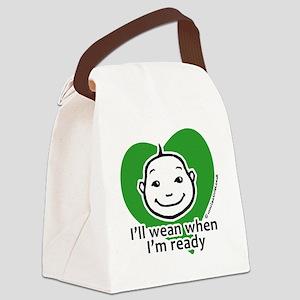 weanwhenready copy Canvas Lunch Bag