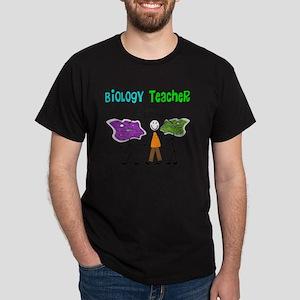 Biology Teacher Amoebas Dark T-Shirt