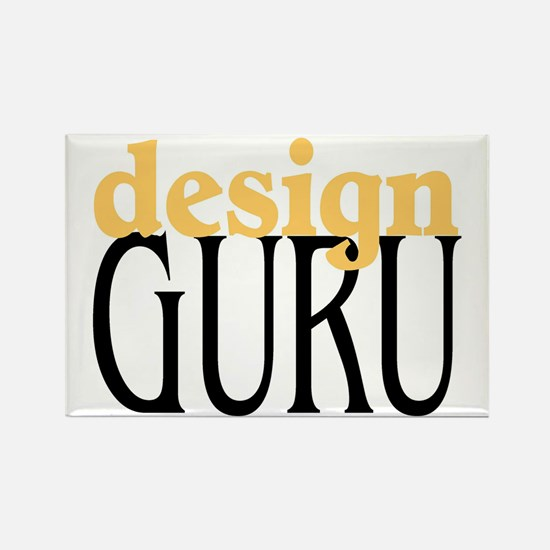 Design Guru Rectangle Magnet