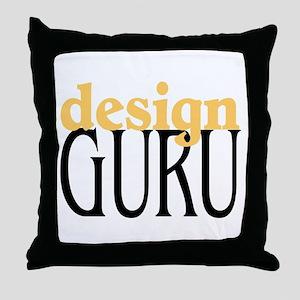 Design Guru Throw Pillow