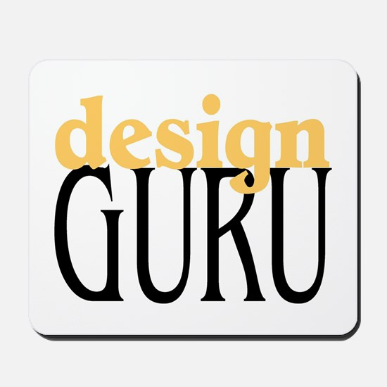 Design Guru Mousepad