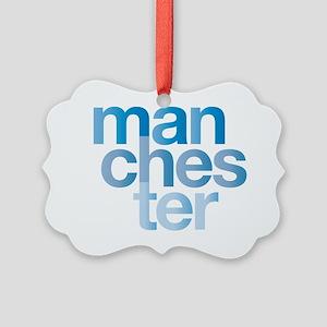 man-chest-er Picture Ornament