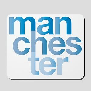 man-chest-er Mousepad