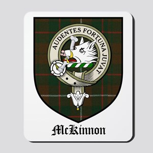 McKinnon Clan Crest Tartan Mousepad