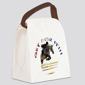 GetOverIt Canvas Lunch Bag