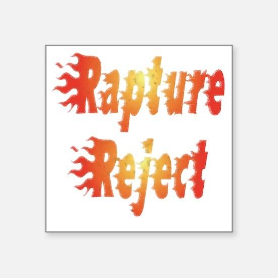 "rapture 3 Square Sticker 3"" x 3"""