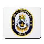 USS CONNECTICUT Mousepad