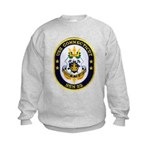 USS CONNECTICUT Kids Sweatshirt