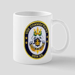 USS CONNECTICUT Mug