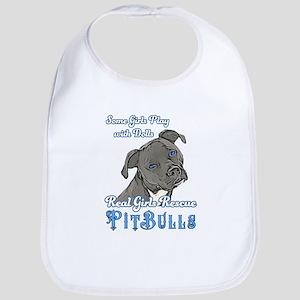 Real Girls Rescue Pitbulls Bib