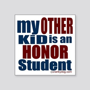 """other-kid Square Sticker 3"""" x 3"""""""