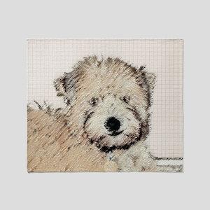 Wheaten Terrier Puppy Throw Blanket