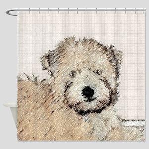 Wheaten Terrier Puppy Shower Curtain