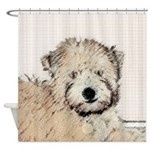 Wheaten Terrier Puppy Shower Curtain
