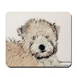 Wheaten Terrier Puppy Mousepad