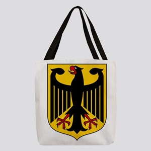 German Coat of Arms Polyester Tote Bag
