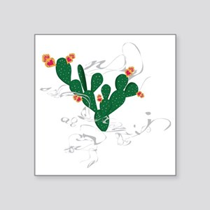 """miracle nopal Square Sticker 3"""" x 3"""""""