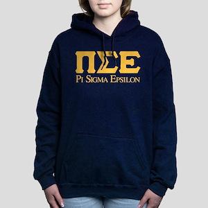 Pi Sigma Epsilon Logo Women's Hooded Sweatshirt