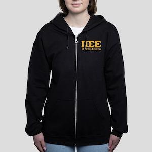 Pi Sigma Epsilon Logo Women's Zip Hoodie
